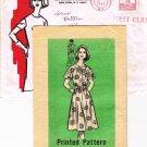 Vintage 1980 The Workbasket Mail Order Sewing Pattern 9398 Dress Plus Size 16 1/2 UNCUT MO113