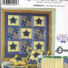 Simplicity Sewing Pattern 9976 Quilt Block Club Home Decor Edition Lesson #4 Quilt Curtains UNCUT