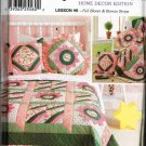 Simplicity Sewing Pattern 7095 Quilt Block Club Home Decor Edition Lesson #6 Quilt Pillow Sham UNCUT