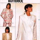 80's Butterick Family Circle Fast and Easy Sewing Pattern 3691 Jacket in 3 styles Size 8 0 12 UNCUT