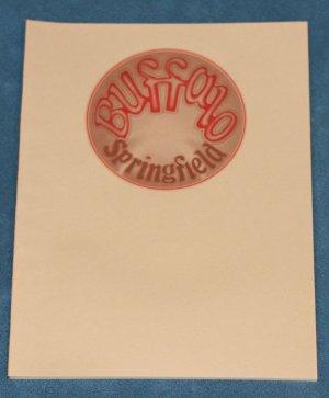 Buffalo Springfield - songbook song book music book sheet music