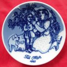 Porsgrunds Norway Mothers Day Plate 1985