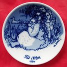 Porsgrunds Norway Mothers Day Plate 1984