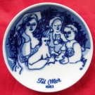 Porsgrunds Norway Mothers Day Plate 1983