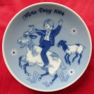 Porsgrunds Norway Mothers day plate 1974