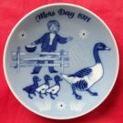 Porsgrunds Norway Mothers day plate 1971