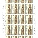 Faroe Islands Stamps Mint Full Sheet 1.50 Danish Kroner