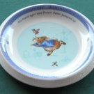 Peter Rabbit Beatrix Potter Wedgwood Plate
