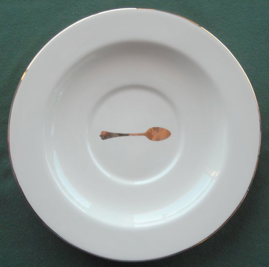Los Angeles Pottery Laurie Gates spoon plate # 1