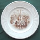 Wedgwood Vintage Old London Views St Clement Danes 1941