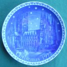 Mother Church Of Anglican England Retsch Germany Christmas Plate 1978