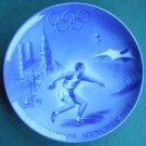 Berlin Design Plate XX Olympic Olympia Munich Munchen 1972 Germany