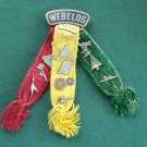 Boy Scouts Vintage Webelos With 14 Pins