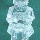 Pukeberg Sweden Art Glass Viking figurine