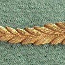 Leaves Vintage 12kt Gold Brooch Jewelry