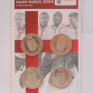 England Squad Medal Collection 2004