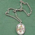 Vintage Danish Jorgen Jensen Denmark Pewter Necklace
