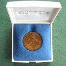 Collectors Goteborg 350 år Sweden bronze medal