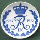 Royal Copenhagen Denmark Frederik IX 1947 - 1972 Plate