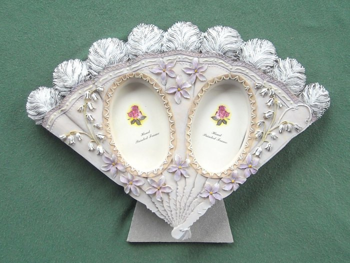 Vintage Hand painted Picture frame