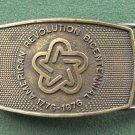 Vintage Lee Co American Revolution belt buckle