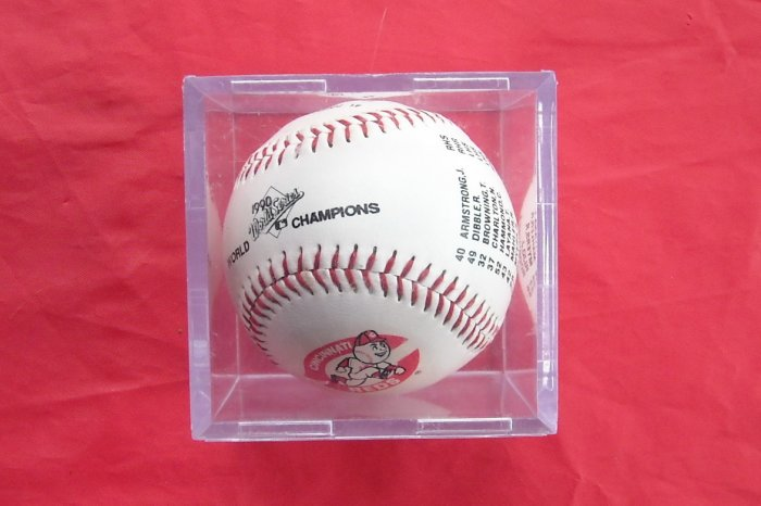 Cincinnati Reds 1990 World Series Champions Memorabilia Baseball
