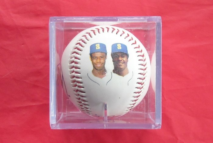 Seattle Mariners The Ken Griffey Memorabilia Baseball
