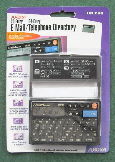 Aurora TM 200 Email Telephone Directory