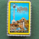 Vintage Knotts Berry Farm Deck Of Cards Yellow