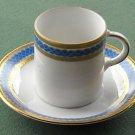 Vintage Tirschenreuth Bavaria Cobalt Blue cup and saucer