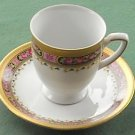 Vintage Tirschenreuth Bavaria floral cup and saucer