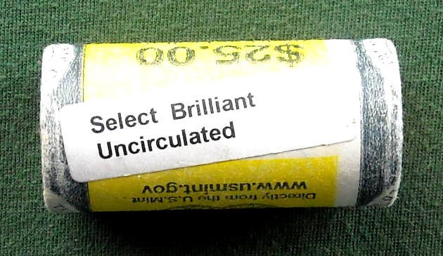2000 Sacagawea Select $1 Golden Dollar Roll US Mint P