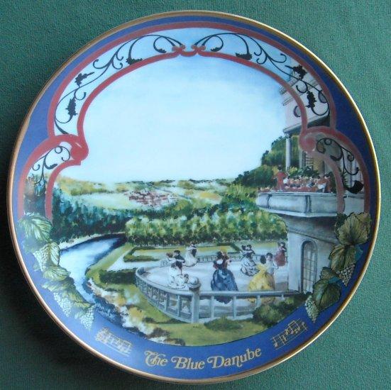 The Blue Danube Marca America The Waltzes of Johann Strauss plate 1980