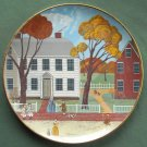 Joseph Webb House Robert Franke Colonial Heritage Museum Edition Plate