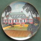 Robert Franke Mulberry Plantation Colonial Heritage Museum Edition Plate