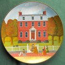 Derby Mansion Robert Franke Colonial Heritage Museum Edition Plate