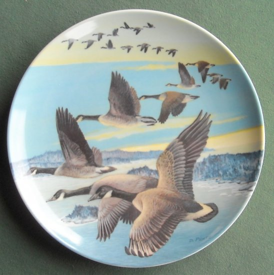 Dominion Southward Bound Wings Upon The Wind Donald Pentz plate 1987