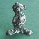 Ampersand Vintage clown figurine solid pewter