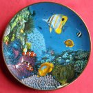 Riches Of The Coral Sea Coral Paradise Hamilton Porcelain Plate 1989