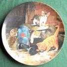 Seltmann Weiden Playmates Spielkameraden Porcelain Plate 1991