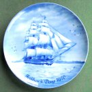 US Frigate Constitution Fathers Day 1970 Porcelain Plate