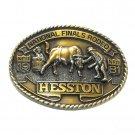 National Finals Rodeo Clown Hesston Vintage Belt Buckle