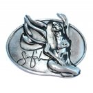 Sinful Silver Color Belt Buckle