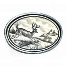 Smith & Wesson Vintage Scrimshaw Belt Buckle