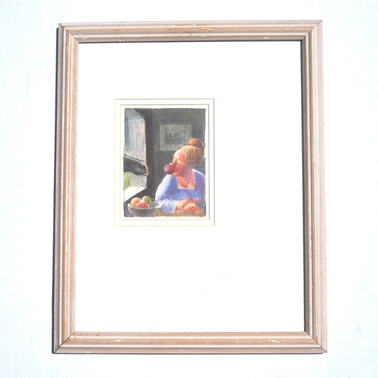 The Come On Jeff Leedy Signed Framed