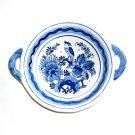 Double Handle Bowl Delft Blue Porcelain Holland