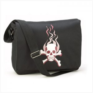 Skull Messenger Bag