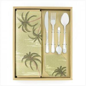 12-piece Palm Tree Tabletop Set