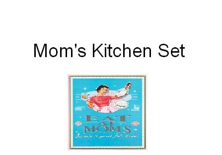 Mom's Kitchen 4-piece Set