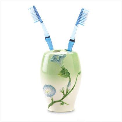 Morning Glory Toothbrush Holder